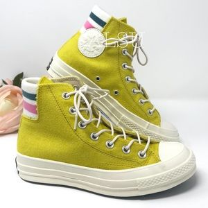 Converse Chuck 70 HI Canvas Bold Citron W AUTHENT